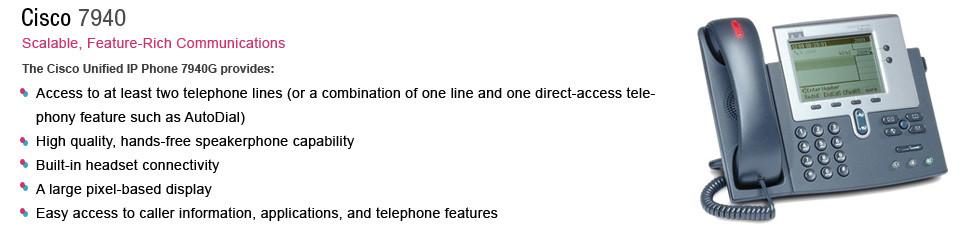 virtual phone system cisco7940