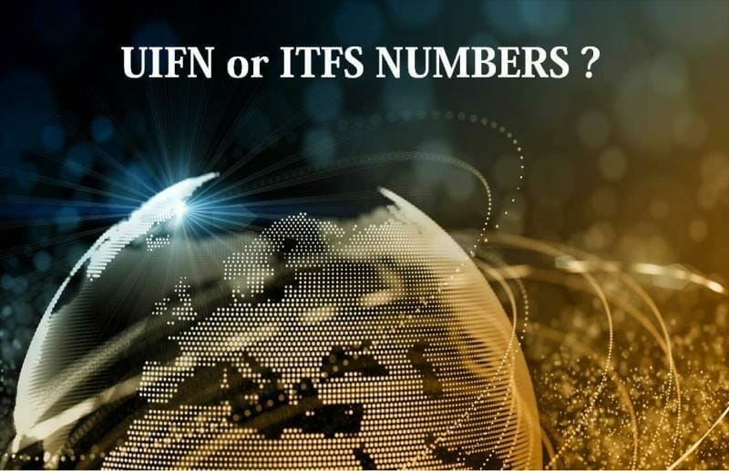 UIFN or ITFS numbers