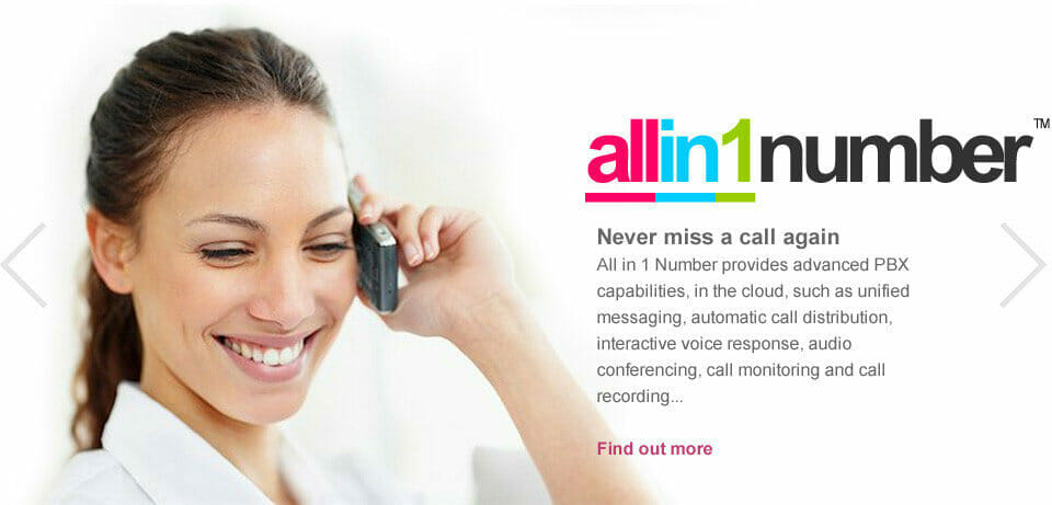 allin1cloud hosted contact center